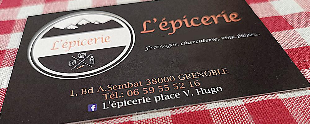 L'épicerie Grenoble : 3 euros de réduction
