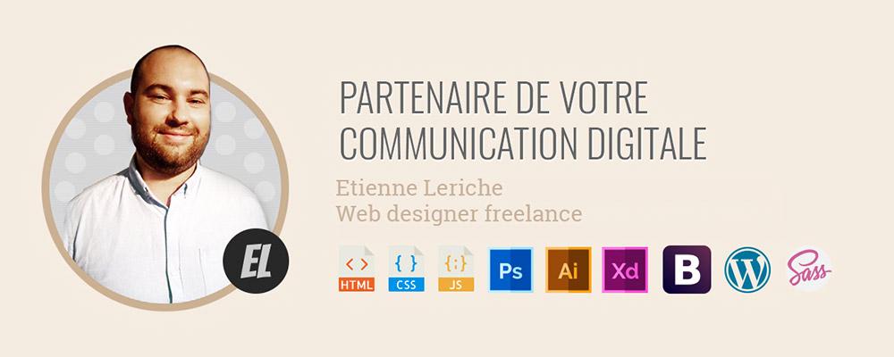 Web Designe - Etienne Leriche : 10 % de remise