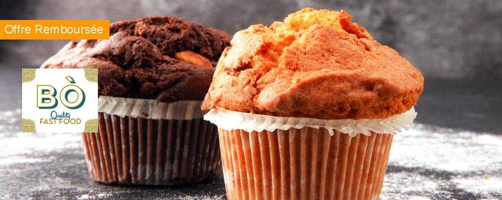 BÒ Quality Fast Food : un muffin offert !